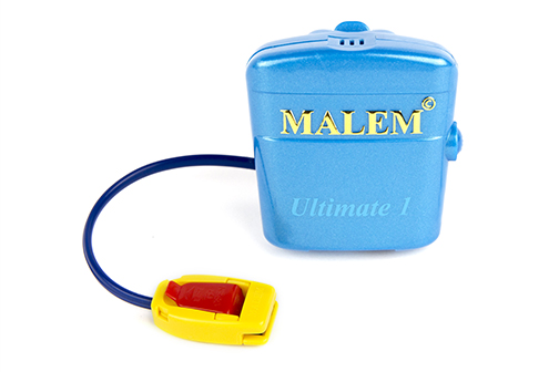 MO4 Light Blue Malem Single Tone Wearable Bedwetting Alarm
