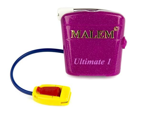 MO4 Pink Malem Single Tone Wearable Bedwetting Alarm