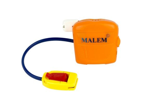 MO3 Orange Malem Wearable Single Tone Alarm